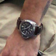 Ryan Reynolds Leather Band Quartz Watch