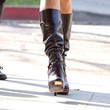 Salma Hayek Shoes - Mid-Calf Boots