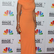 Sanaa Lathan Clothes - Off-the-Shoulder Dress