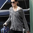 Sandra Bullock Clothes - V-neck Sweater