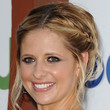 Sarah Michelle Gellar Hair - Messy Updo