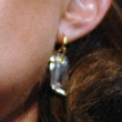 Sarah Palin Dangling Gemstone Earrings