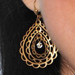 Sarah Silverman Jewelry - Gold Dangle Earrings