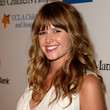 Sarah Wright Hair - Long Wavy Cut with Bangs