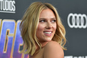 Scarlett Johansson Shoulder Length Hairstyles