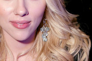 Scarlett Johansson Sterling Chandelier Earrings