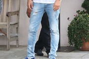 Scott Disick Ripped Jeans