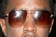 Sean Combs Square Sunglasses
