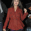 Selena Gomez Wool Coat
