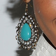 Selita Ebanks Jewelry - Dangling Gemstone Earrings