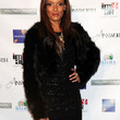 Selita Ebanks Clothes - Fur Coat