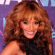 Selita Ebanks Long Curls with Bangs