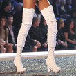 Selita Ebanks Over the Knee Boots