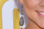 Shawn Johnson Dangling Diamond Earrings
