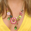 Shawn Johnson Jewelry - Flower Statement Necklace