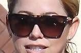 Shawn Johnson Square Sunglasses