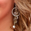 Shawn Johnson Jewelry - Sterling Chandelier Earrings