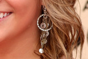 Shawn Johnson Sterling Chandelier Earrings