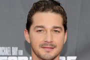 Shia LaBeouf Short Wavy Cut
