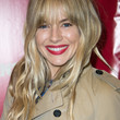 Sienna Miller Hair - Long Wavy Cut with Bangs