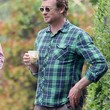Simon Baker Clothes - Button Down Shirt