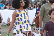 Solange Knowles Loose Blouse