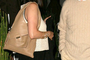 Soon-Yi Previn Leather Shoulder Bag