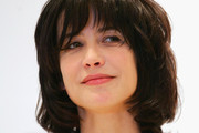 Sophie Marceau Short cut with bangs