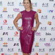 Stacy Keibler Clothes - Leather Dress