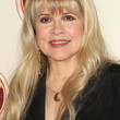 Stevie Nicks Long Wavy Cut with Bangs