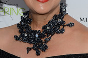 Sue Wong Flower Statement Necklace