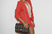 Sylvie van der Vaart Studded Shoulder Bag