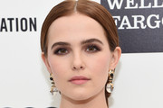 Zoey Deutch Loose Ponytail