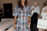 Nicole Scherzinger Print Dress