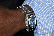 Taye Diggs Sterling Quartz Watch