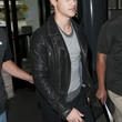 Taylor Lautner Clothes - Motorcycle Jacket