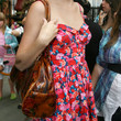 Taylor Swift Printed Bowler Bag