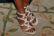 Tichina Arnold Strappy Sandals
