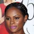 Tika Sumpter Hair - Bobby Pinned updo