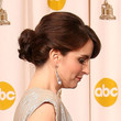 Tina Fey Hair - Twisted Bun