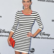 Tricia Helfer Print Dress
