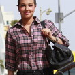 Tulisa Contostavlos Clothes - Button Down Shirt