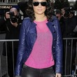 Tulisa Contostavlos Clothes - Leather Jacket