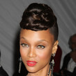 Tyra Banks Hair - Braided Bun