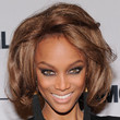 Tyra Banks Hair - Short Wavy Cut