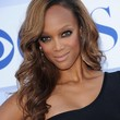 Tyra Banks Hair - Side Sweep