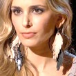 Fashion Star Feathered Earring