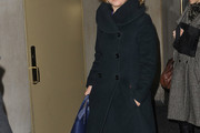 Julia Stiles Wool Coat