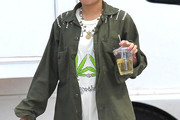 Vanessa Hudgens Military Jacket