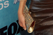 Victoria Justice Gemstone Inlaid Clutch